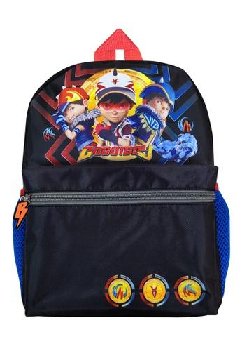 Boboiboy Boboiboy Fusion Black Kids Backpack (12-Inch) 1090DKCCA1C862GS_1