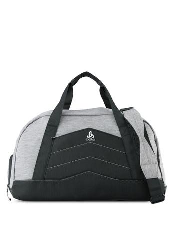 Odlo grey and white Active Bag OD608AC0S13UMY_1
