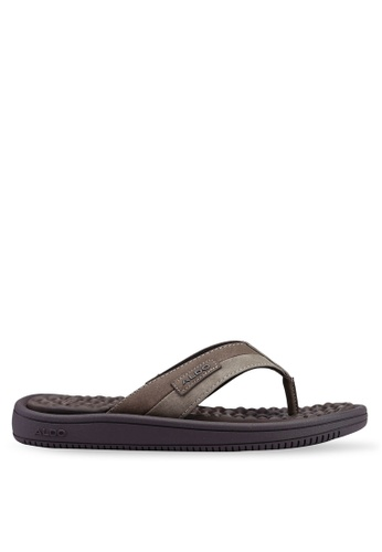 ALDO brown Kaigoma Sandals 5F628SH02C52BDGS_1