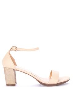5a49ce24ce Mendrez beige Millie Slide Heels 7A651SH0D9A253GS 1