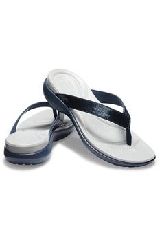 e00da1879877 Crocs Women s Capri V Sequin Flip Navy Lgr RM 197.00. Sizes 5 6 7 8 9