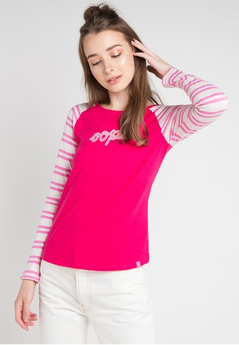 Cressida Ladies pink and multi Dionne Simply T-Shirt D8AA8AA17174AEGS_1