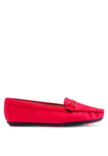 NOVENI 紅色 Noveni Loafers, Moccasins & Boat Shoes 95AA6SH7996008GS_1