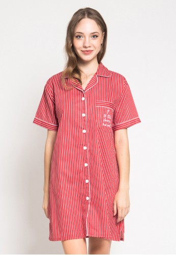 Pajamalovers red Dellen Red 75A50AAB42C223GS_1