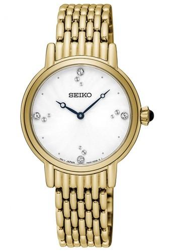 Seiko gold Jam Tangan Wanita Seiko Original Garansi Resmi Strap Stainless Steel Gold SFQ804P1 SFQ804 Gold SE382AC0UCEAID_1