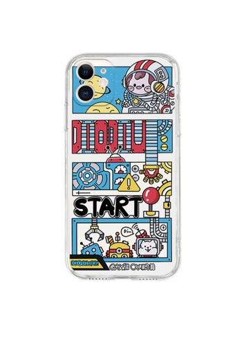 Kings Collection white Piggy Astronaut iPhone 12 Case (KCMCL2227) 8890EAC2076860GS_1
