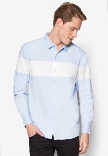 休閒長袖襯esprit 評價衫, 服飾, 素色襯衫