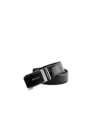 Valentino Rudy black Valentino Rudy Italy Men's 36mm Leather Auto Gear Buckle Belt 0463002-319 82D1DAC0E607F5GS_1