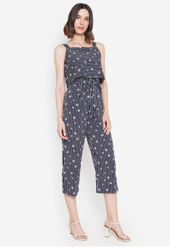 Mommy & Me by Great Kids multi Printed Strappy Jumpsuit 08CA2AA10EE4E1GS_1