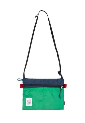 Topo Designs green Topo Designs Accessory Shoulder Bag 9E27AAC7A574F8GS_1