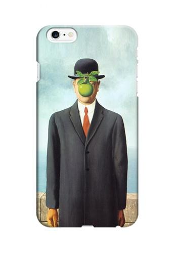 Wonder Cover multi The Son of Man Hard Case for iPhone 6 Plus/ 6s Plus 96E83AC988935FGS_1