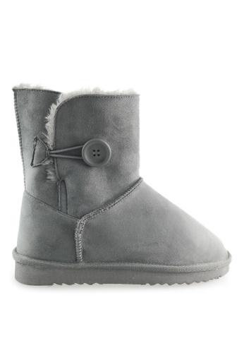 Footspot grey FOOTSPOT - Classic Snow Boots FO296SH2WCBBHK_1