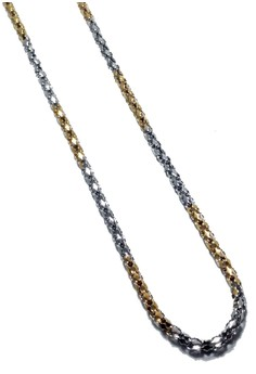 Stainless Steel Mesh Chain Necklace
