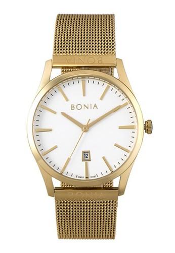 BONIA gold Bonia B10187-1212 - Jam Tangan Pria - Gold D6637ACF844697GS_1