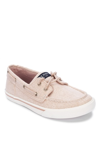 Sperry pink Bahama Boat Shoes BEDE0KSDD61FB9GS_1
