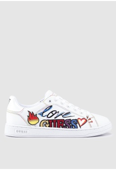 Guess white Crayza Sneakers 89F5DSH18BC99FGS 1 5ad6158d4