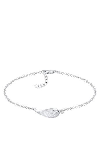 羽翼 925 純esprit暢貨中心銀手鐲, 飾品配件, 手鐲 & 手環