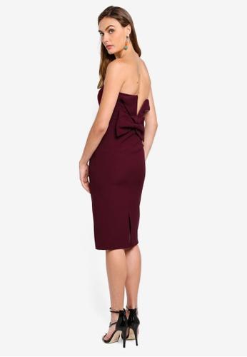 River Island purple Bandeau Bodycon Dress 48F53AA1E30829GS_1