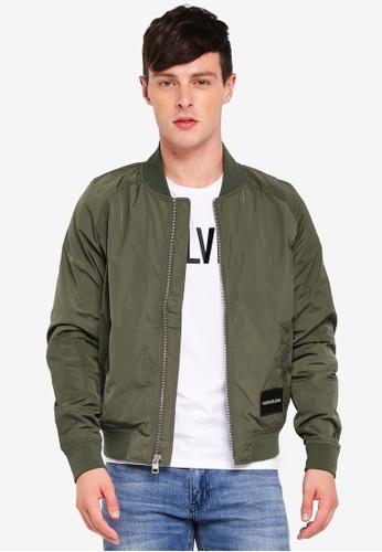 f2edf8c8d1d Shop Calvin Klein Basic Bomber Jacket - Calvin Klein Jeans Online on ZALORA  Philippines