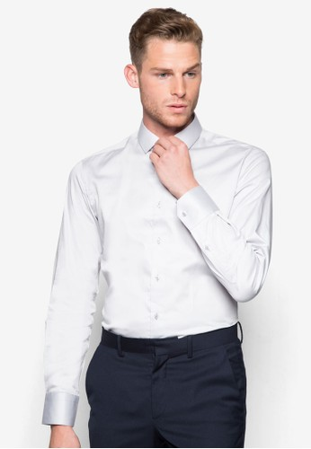 基本款長袖襯esprit 香港衫, 服飾, 襯衫