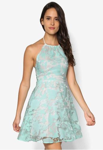 印花歐esprit 衣服根紗洋裝, 服飾, 洋裝