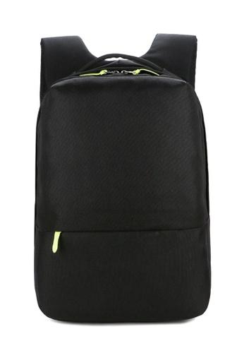 Jackbox black Korean Featherweight Ipad Laptop Bag Business Backpack 545 (Black) 6DB7EACBA7AA86GS_1
