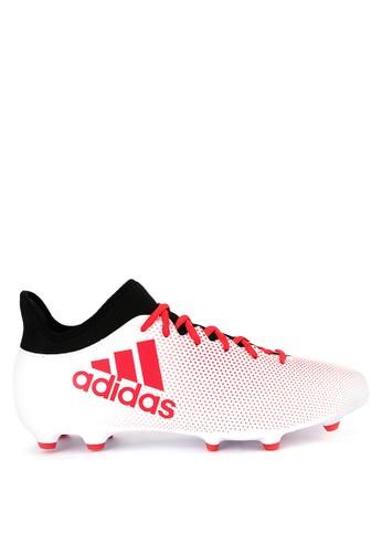 adidas white adidas x 17.3 fg 6B8CCSHF84D3A7GS_1