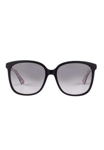 Kate Spade black Kate Spade Mackenzee Black Sunglasses UYY9O KA433AC14JUJMY_1