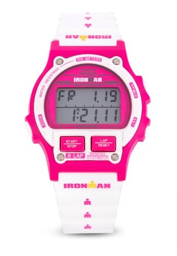 TIMEX white Ironman 8Lap Digital Watch 91FCDAC791B606GS_1
