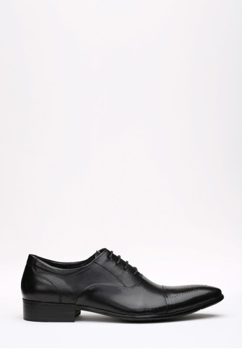 Kings Collection black McAllister Oxford Shoes KI358SH63DFOSG_1