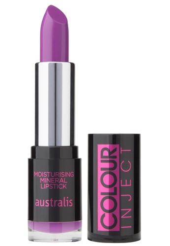 Australis Colour Inject Moisturising Lipstick - Gansta Rap AU782BE83DVSSG_1