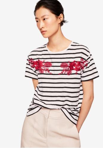 Mango white Embroidered Cotton Shirt 17FEEAABD0652BGS_1