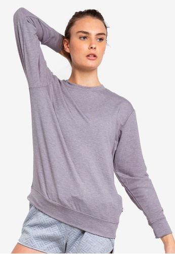 Cotton On Body grey Summer Crew Long Sleeve Top 6300FAA201D13BGS_1