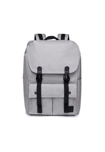The Dude grey Little Predator Backpack TH373AC80BGPHK_1