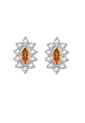 SC Tom Silver silver Crystal Oblong Birthstone Stud Earrings (November) SC872AC0J6HAPH_1