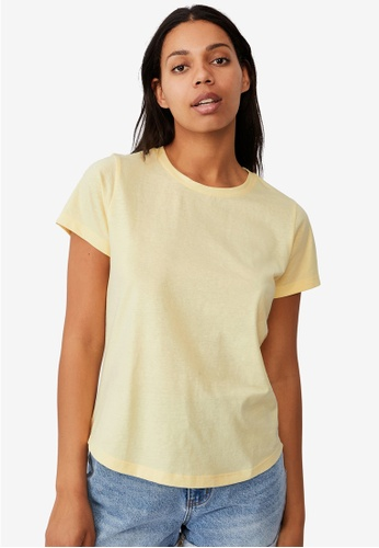 Cotton On yellow The One Crew Tee 54BFAAA57C4AC7GS_1