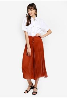 5bfe93ac966 ESPRIT Short Sleeve Woven Shirt RM 249.90. Sizes 32 34 36 38 40