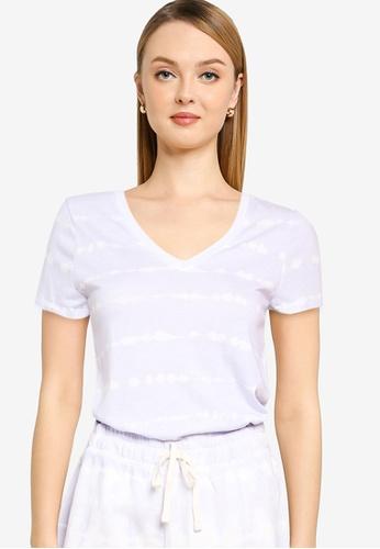 GAP blue Favorite Print T-Shirt 2043DAAA51D931GS_1