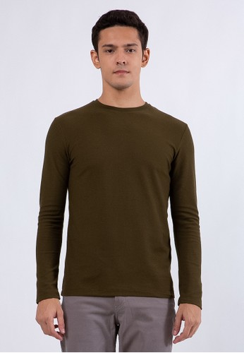The Executive green Slim T-Shirt  Olive 78FE4AA7EE8961GS_1