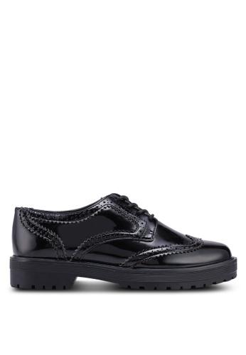 ALDO 黑色 雕紋牛津鞋 5481BSHD2362ADGS_1