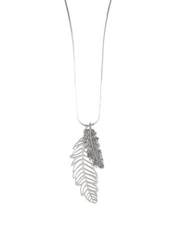 Megane silver Fifi Rosil Necklace 8667FAC9520254GS_1