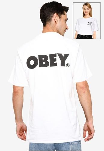 OBEY white Obey Bold T-Shirt ECC6DAAFF7F5A4GS_1