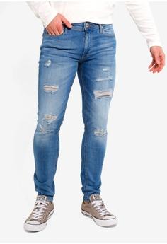02a2280884ed8f Jack   Jones blue Liam Original Skinny Jeans E3354AAA266D05GS 1