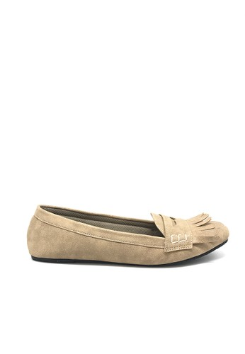 Ballerina Flats Prue Cream BA617SH75KSUID_1
