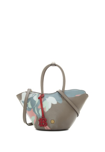 BONIA grey Medium Grey Samothrace Tote with Pastel Motif S A5140AC593B31FGS_1