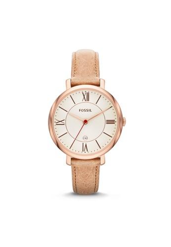 Fossil JACQUELINE淑女型女錶 ES3487, 錶類, esprit鞋子淑女錶