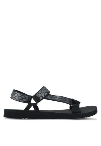 ALDO black Moesen Sandals 8390CSHF248A26GS_1