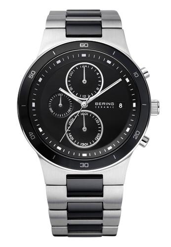Bering silver Ceramic 33341-742 Black 41 mm Men's Watch A2984AC6B3026FGS_1