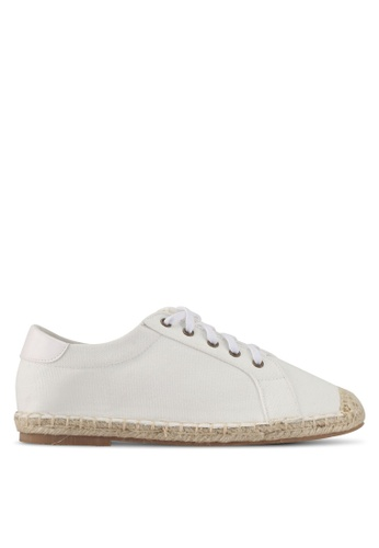 Something Borrowed white Sneakers with Espadrille Soles 81649SHF4B0C81GS_1