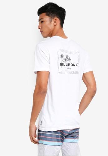 Billabong 白色 短袖印花T恤 14441AA2EDF2D7GS_1